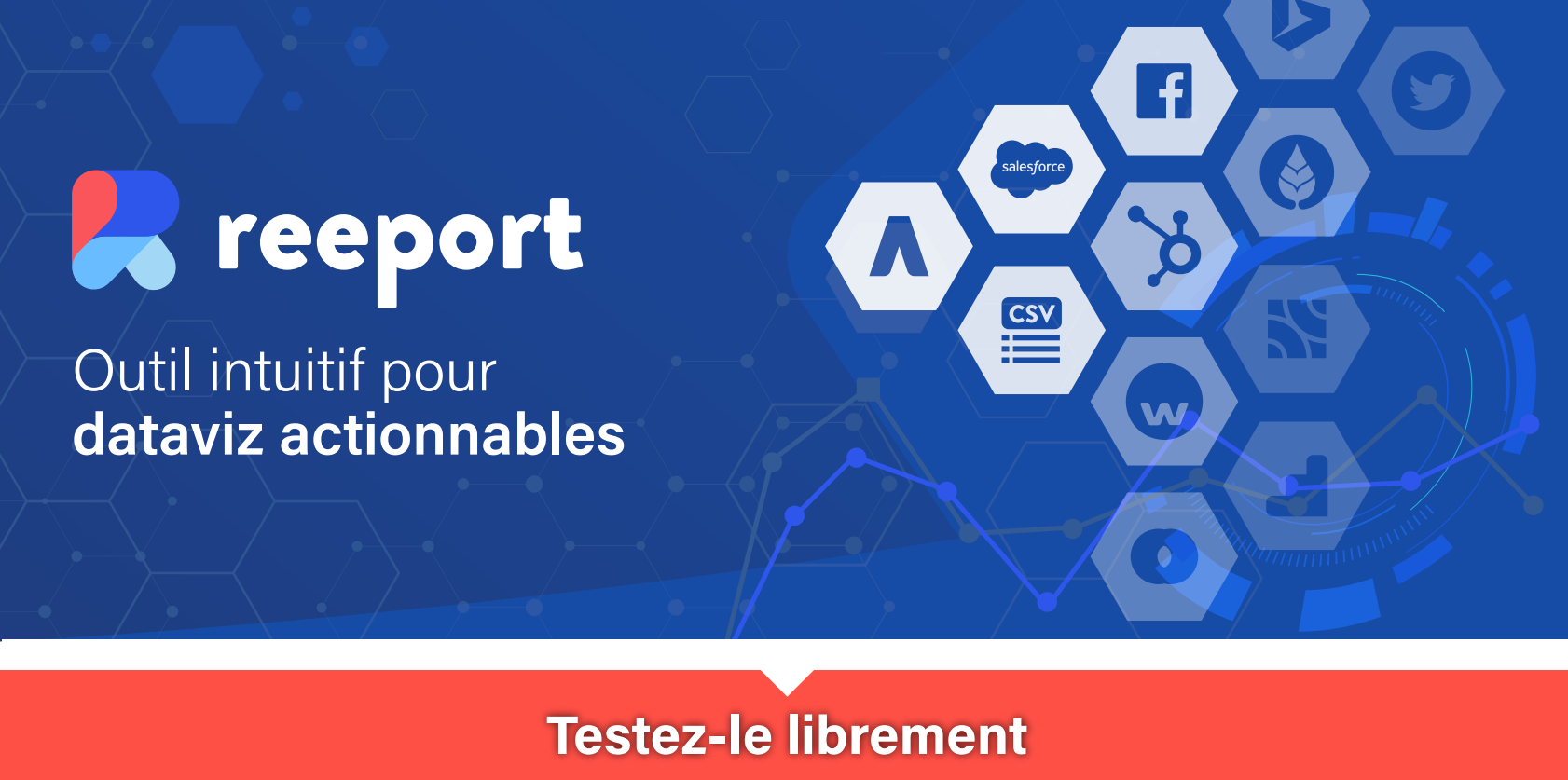 Data Driven marketing avec Reeport